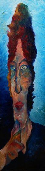 Réflexion, 25x75 cm, huile sur toile, 2010