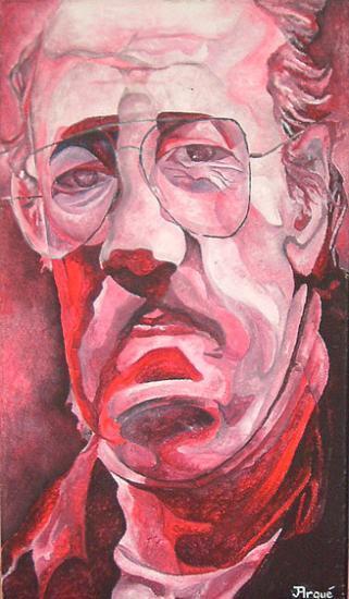 L'Homme sérieux, acrylique sur toile, 2004