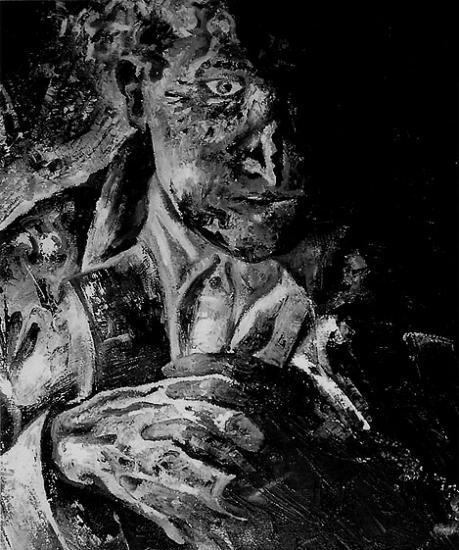 Apparition, huile sur toile, 2004